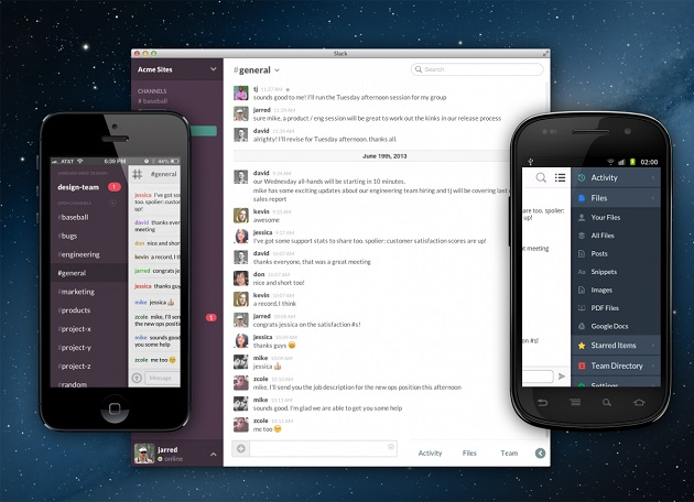 slack apps mobile